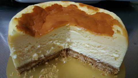 極上チーズケーキ (8)