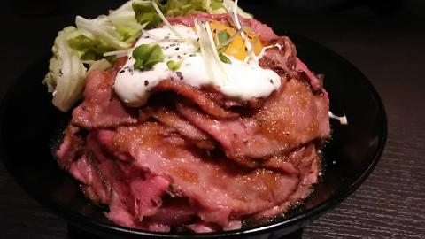 レッドロック和牛ローストビーフ丼 (2)