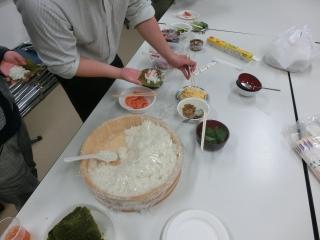 2015年度手巻き寿司