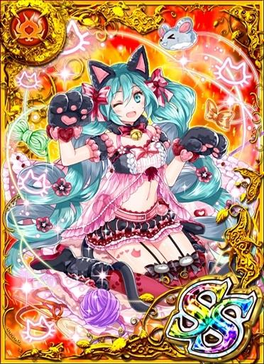 幸運を招く猫シンガー 初音ミク