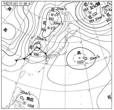 天気図 15100109