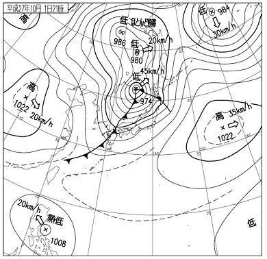 天気図 15100121