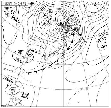 天気図 15100209