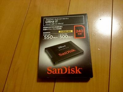 交換用SSD