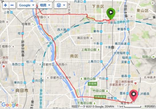 15km走20151205