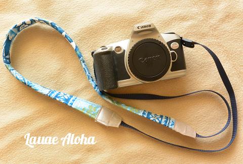 ハワイアンカメラストラップ