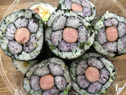 今日のお花寿司