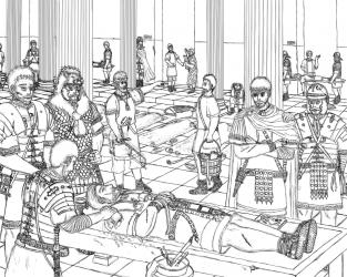 ローマ軍の物語 病院