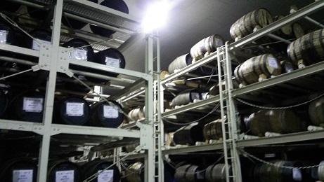 マルス2016樽貯蔵庫