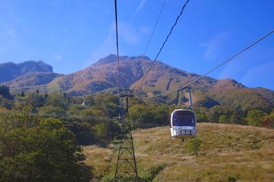 スカイケーブルと妙高山