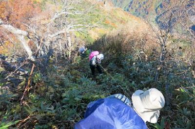 18-3鋸岳から鬼ケ面山へ_1