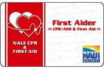 NAUI公認「CPR&FIRSTAID」