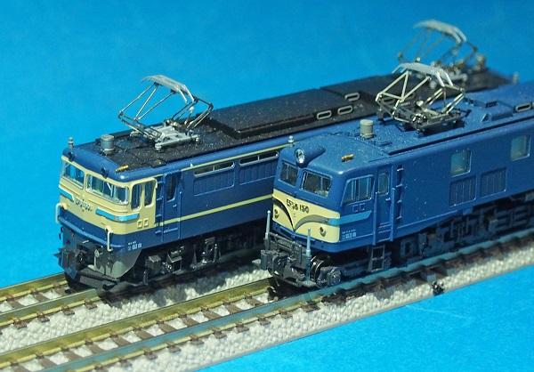 EF58とEF65RZ