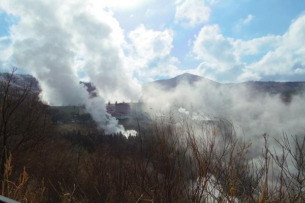 滝上地熱発電所12