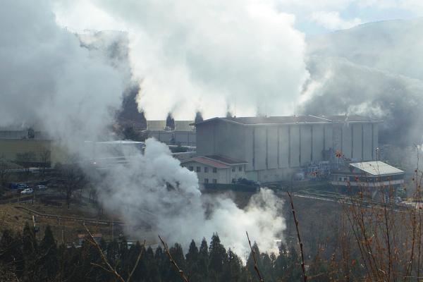 滝上地熱発電所13
