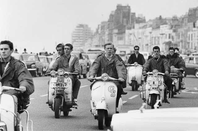 The scooterist 5