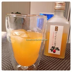 ぱっしょんふるーつ梅酒