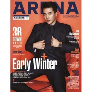 韓国雑誌 ARENA HOMME+(アリーナ・オム・プラス)2015年11月号