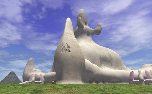 ラテーヌ ホラの岩