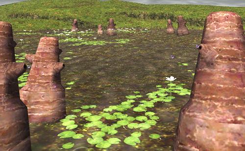 パシュハウ沼のコレも写ってました