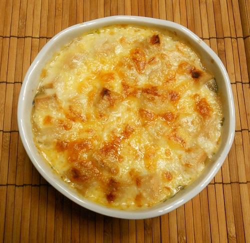 熱々!和風オニオングラタンスープ6