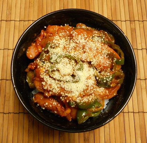 パスタを超える絶品ナポリタン丼7