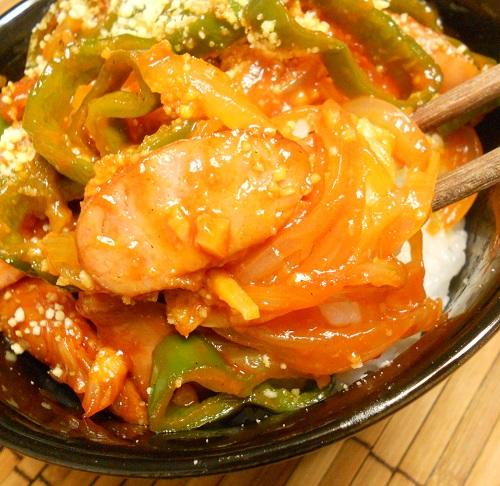 パスタを超える絶品ナポリタン丼9
