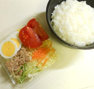 オールコンビニ素材の和風チキン南蛮丼4