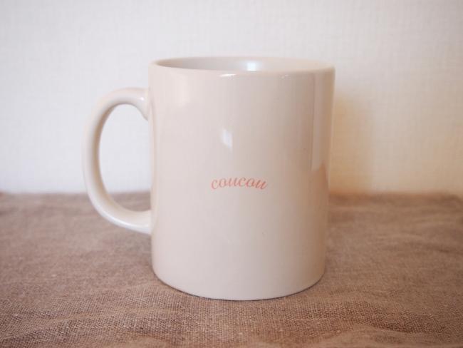 オオルリマグカップ背面