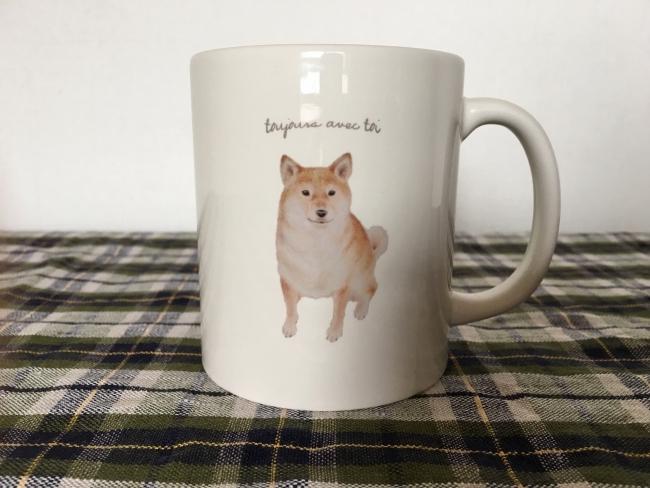 柴犬マグカップ