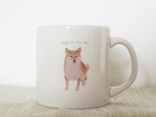 柴犬Sサイズマグカップ