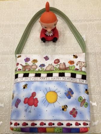 ハチの子供バッグ
