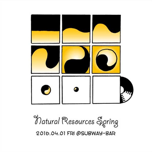 "2016/4/1(Fri) ""Natural Resources Spring"" at Subway 四日市"