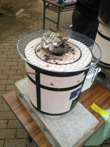 20160313焼き牡蠣