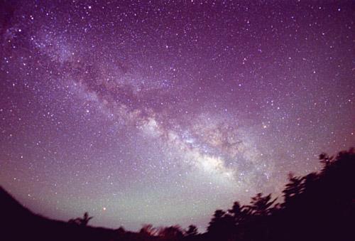降るような星空(大台ケ原)20030510