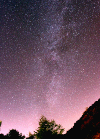 沈む銀河(北十字)高峰温泉001
