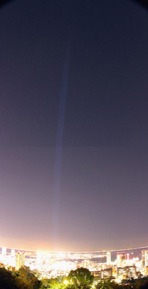 謎のサーチライト1005