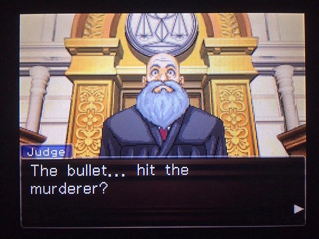 逆転裁判 北米版 真犯人が弾丸を持ち去った理由とは21