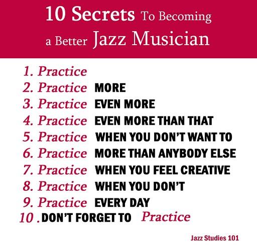 Practice, practice !