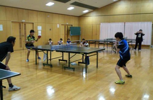 町長杯卓球大会(27.10.11)