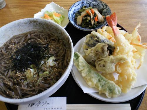 天ぷらそば(27.10.4)