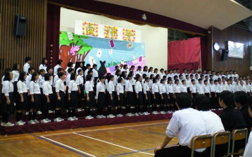 山ノ内中学校白樺祭(27.10.3)