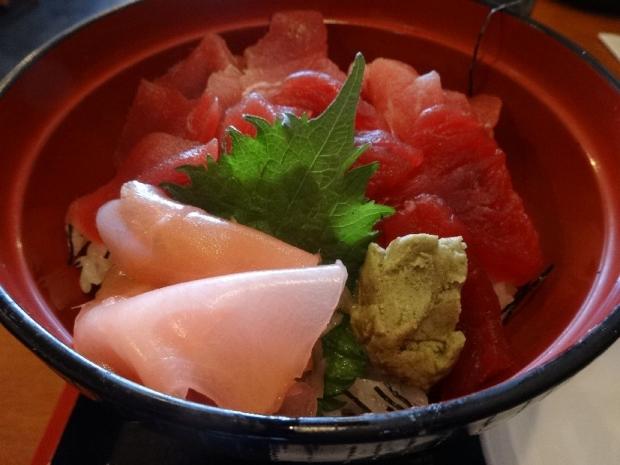 マグロ切り落とし丼@大庄水産3-25 (6)
