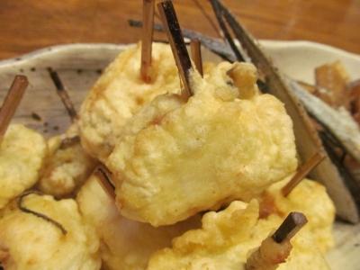 タチウオの海苔チーズ巻き天アップ1