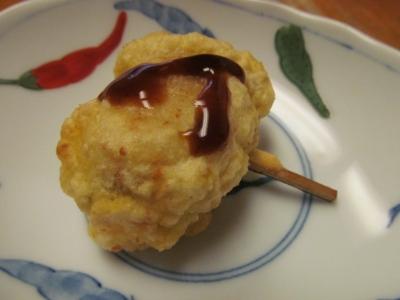 骨煎餅と尻尾揚げ小皿1
