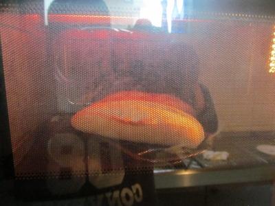 オーブントースターで焼く2