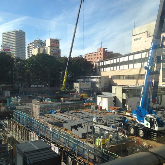 府中駅前開発10月末