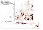 新潟微小地震分布