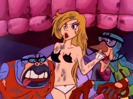 タイムボカン マージョの胸裸ヌードパンツ21