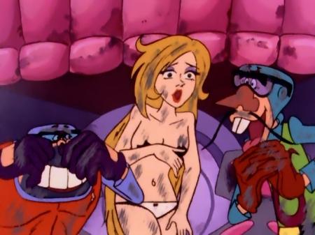 タイムボカン マージョの胸裸ヌードパンツ22
